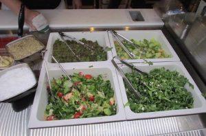 Four salad choices