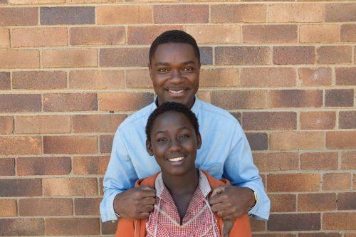 Actors Madina Nalwanga and David Oyelow