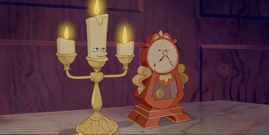 Beauty And The Beast Cogsworth