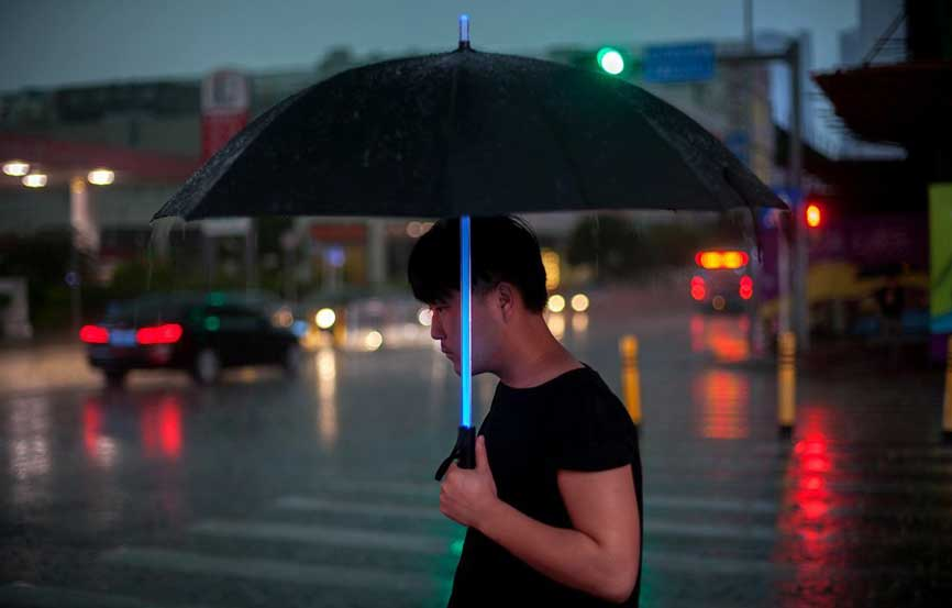 Star Wars Lightsaber Umbrella The Disney Blog