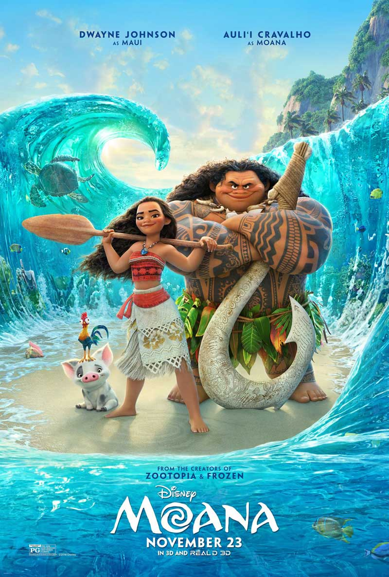 Moana poster new The Disney Blog