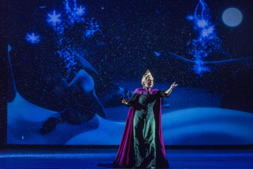 Elsa Let It Go live stage show