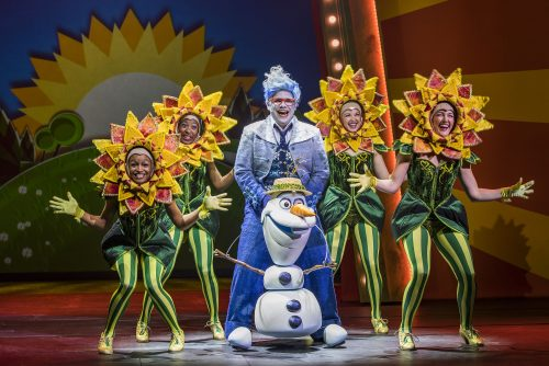 "Olaf's Summer in ""Frozen, A Musical Spectacular"""