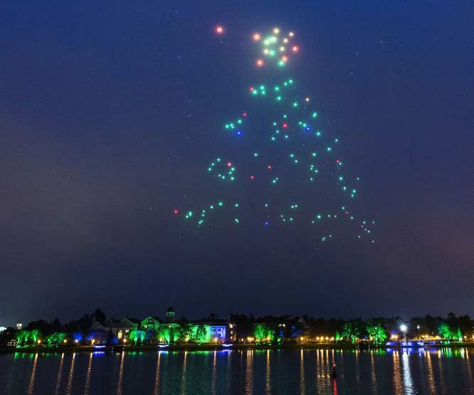 2 Years Ago: Starbright Holidays Aerial Drone Show At