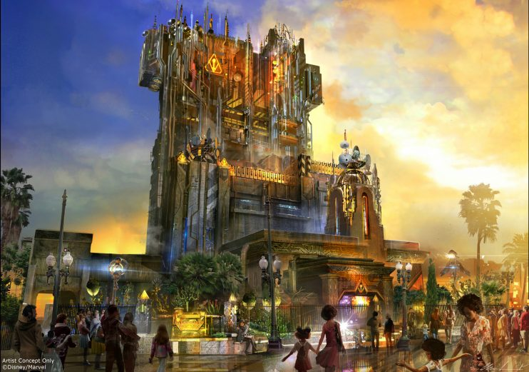 Disneyland announces Guardians of the Galaxy-Mission: Breakout! will open May 27