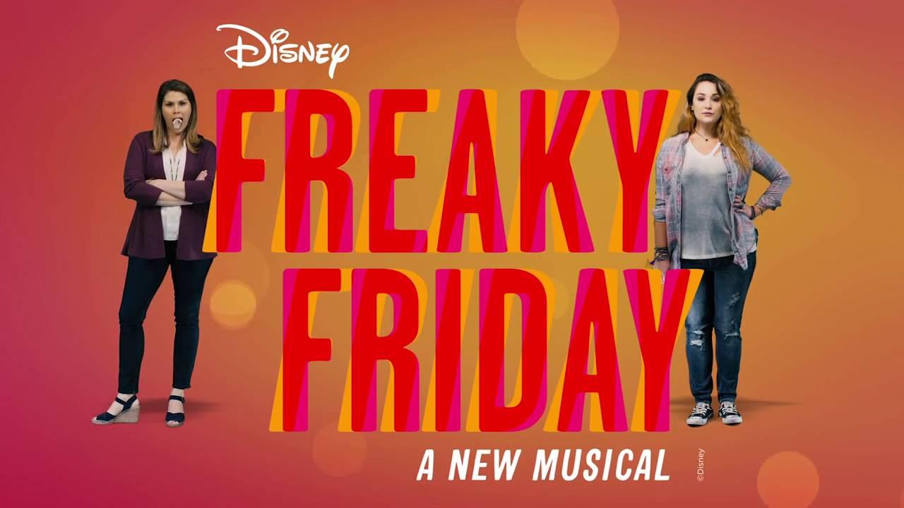 Resultado de imagem para Freaky Friday Disney 2017 a new musical