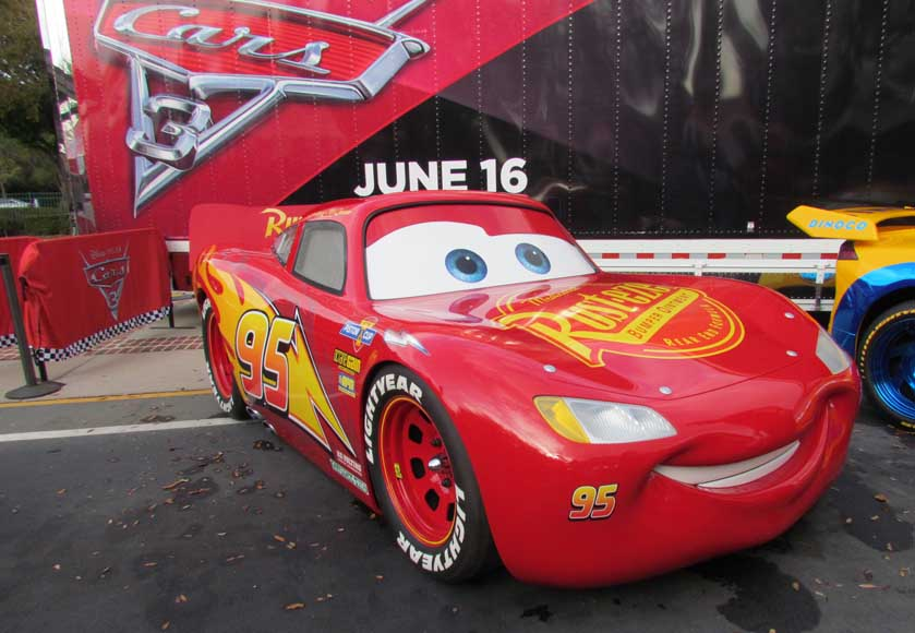 cars 3 road to the races tour from pixar takes green flag at disney springs the disney blog. Black Bedroom Furniture Sets. Home Design Ideas