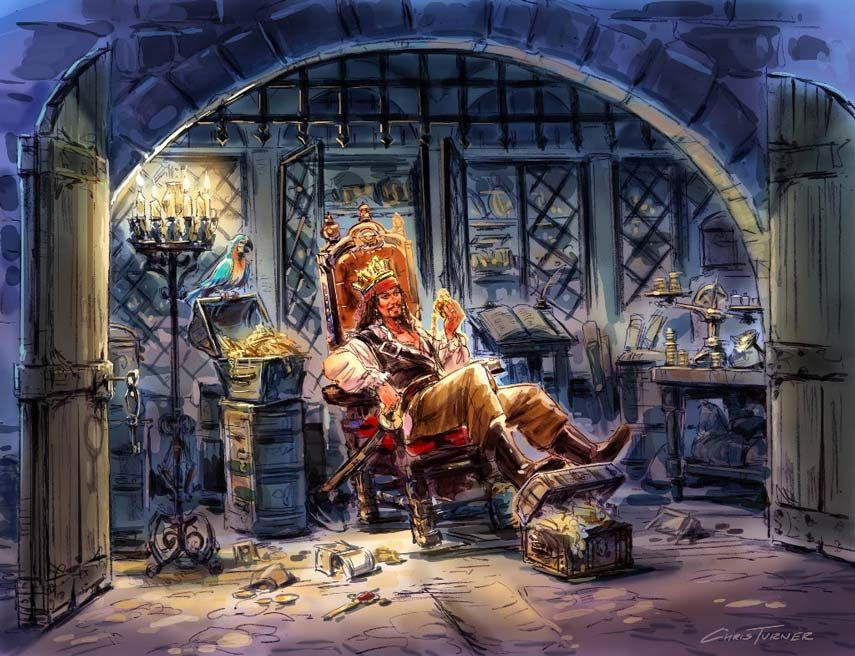 Examining the mixed messages of Disneyland's Pirates of ...