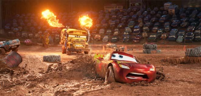 disney pixar cars 3 miss fritters racing school