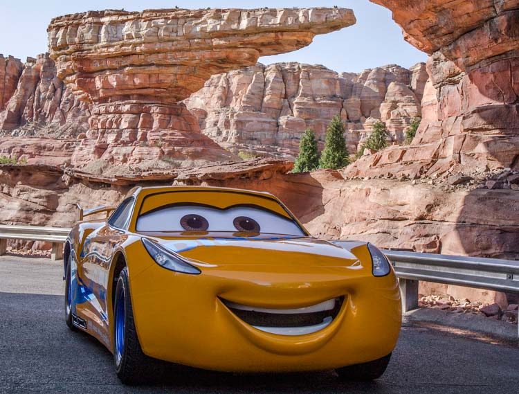 Cruz Ramirez From Cars 3 Rolls Into Disney Theme Parks For