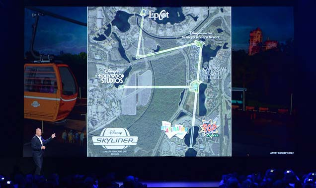 Wdw Gondola Project Now Official Meet The Disney