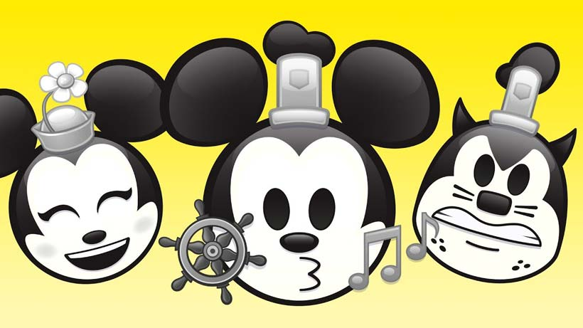 "Disney's Steamboat Willie gets the ""As Told by Emoji"