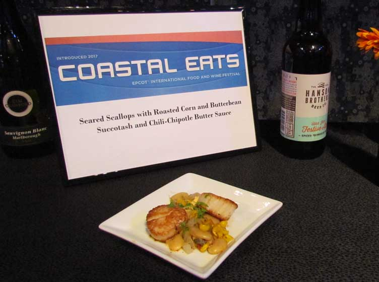 Image result for Lump Crab Cake food and wine epcot