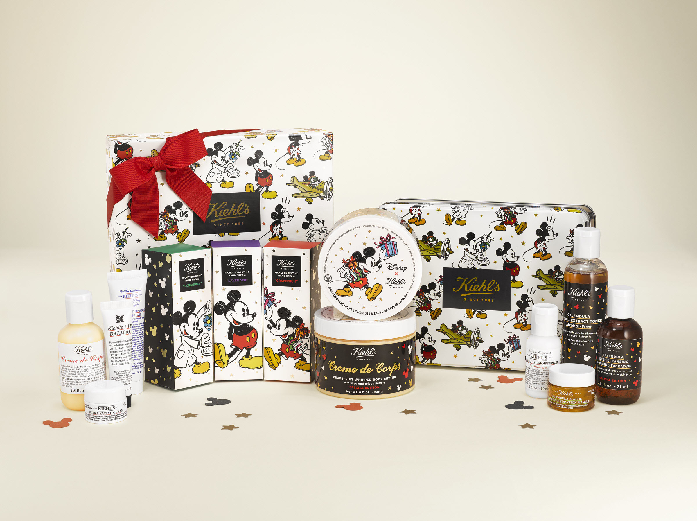 Kiehls Since 1851 Mickey Charity Sets