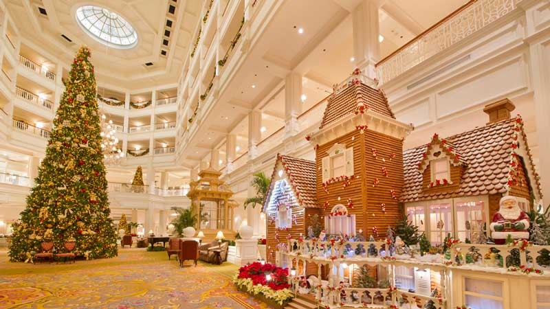Disney Resort Gingerbread House Tour 2017 Preview The