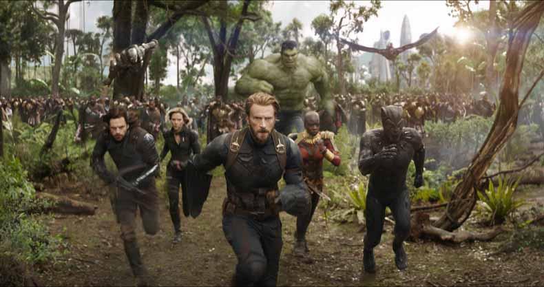 avengers infinity war charge