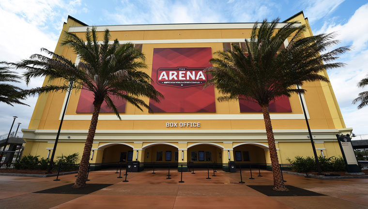 ESPN Wide World of Sports complex opens new Arena space ...