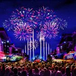 Concept art for Disneyland Fireworks