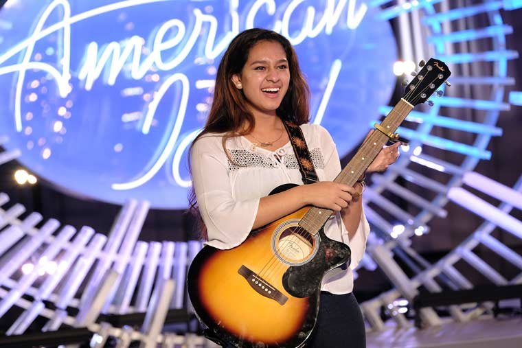 Alyssa Raghu on Americsn Idol