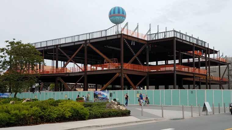 Disney springs completion date in Sydney