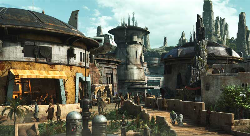 Disney gives sneak peek of Star Wars land in video