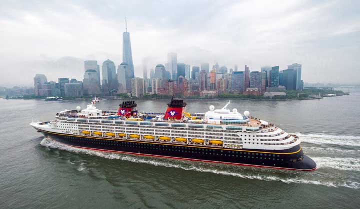 Disney Cruise Line - Disney Magic - New York City
