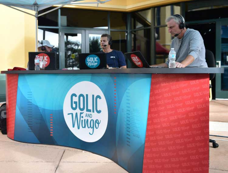 golic and wingo bring show to espn wide world of sports