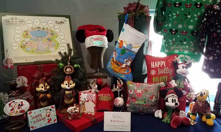 Epcot Holiday Merchandise