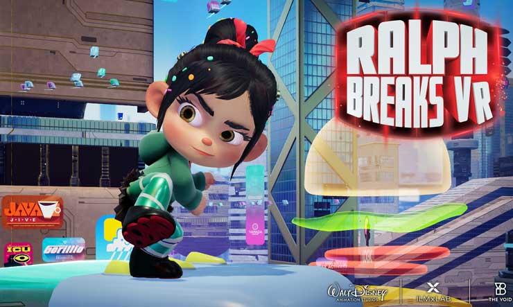 Ralph Breaks VR - Vanellope