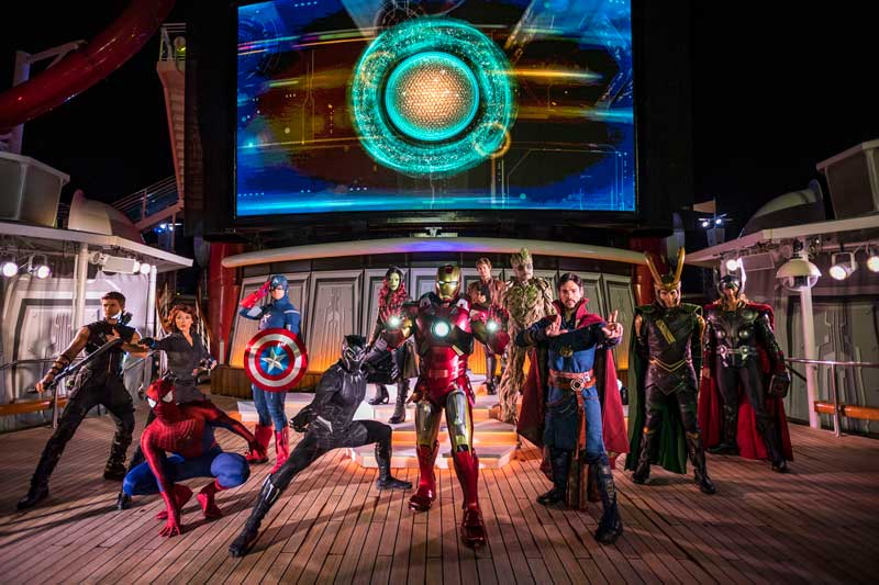 Marvel Day at Sea - Disney Cruise