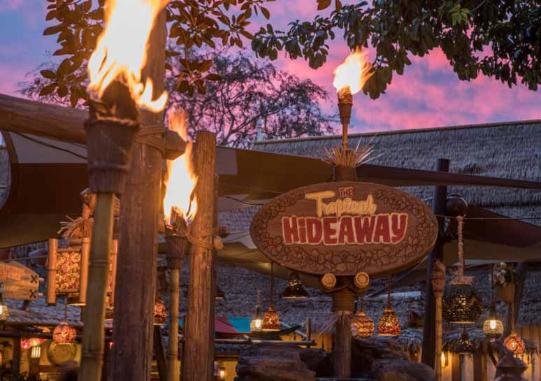 Tropical Hideaway at Disneyland Park