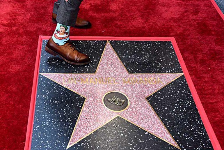 Lin-Manuel Miranda Hollywood Star