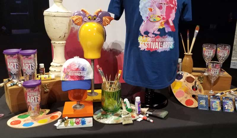 Figment Dominates The Merchandise At Epcot Festival Of The Arts The Disney Blog
