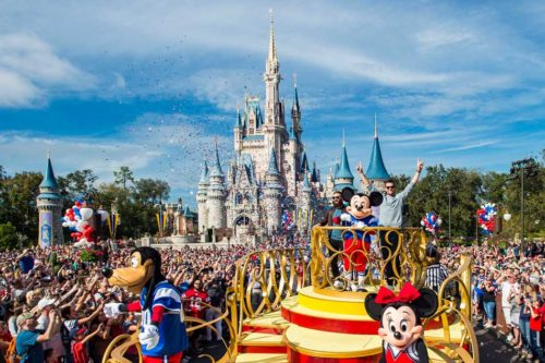 Magic Kingdom Victory Parade Super Bowl LIII