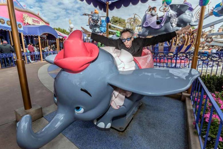 Tim Burton on Dumbo