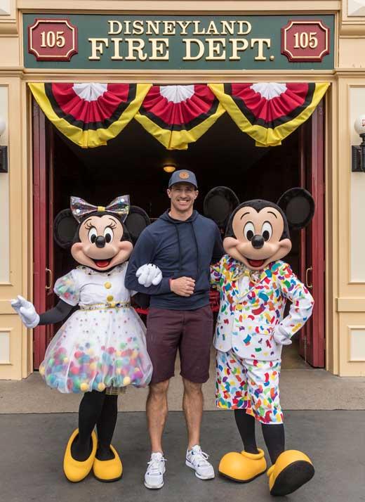 Drew Brees Disneyland
