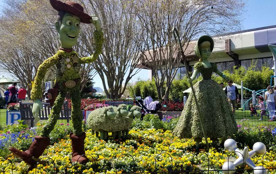 flipboard review jardin de fiestas epcot international flower garden