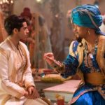 Will Smith is the Genie and Mena Massoud is Aladdin