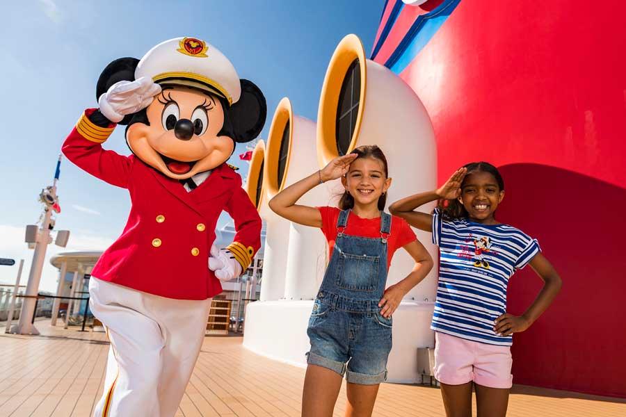 Disney Cruise Line has a new captain - Minnie Mouse