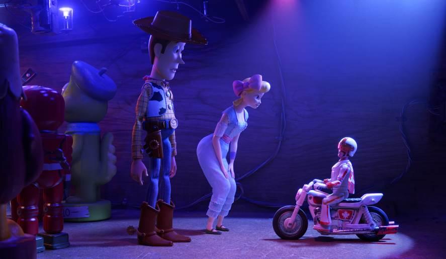 Duke Caboom, Woody, Bo Peep