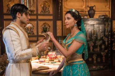 Princess Jasmine and Aladdin from Disney