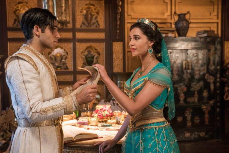 Princess Jasmine and Aladdin from Disney