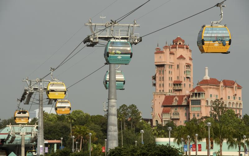 Disney Skyliner at Disney's Hollywood Studios