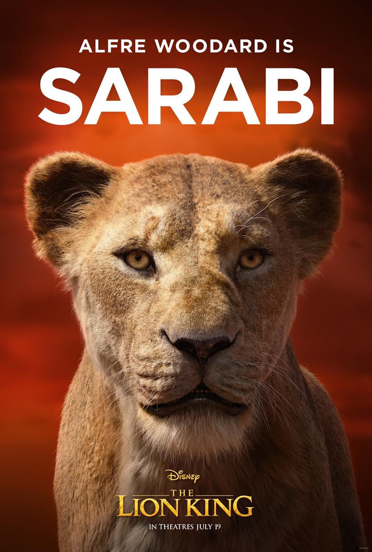 El Rey León (2019) Disney-the-lion-king-character-posters-sarabi