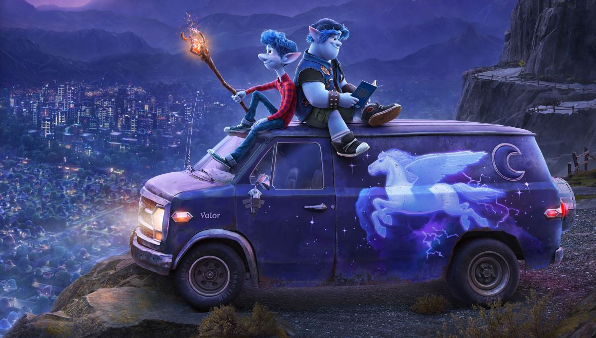 "First look at Pixar's new animated fantasy film with a twist ""Onward"" 