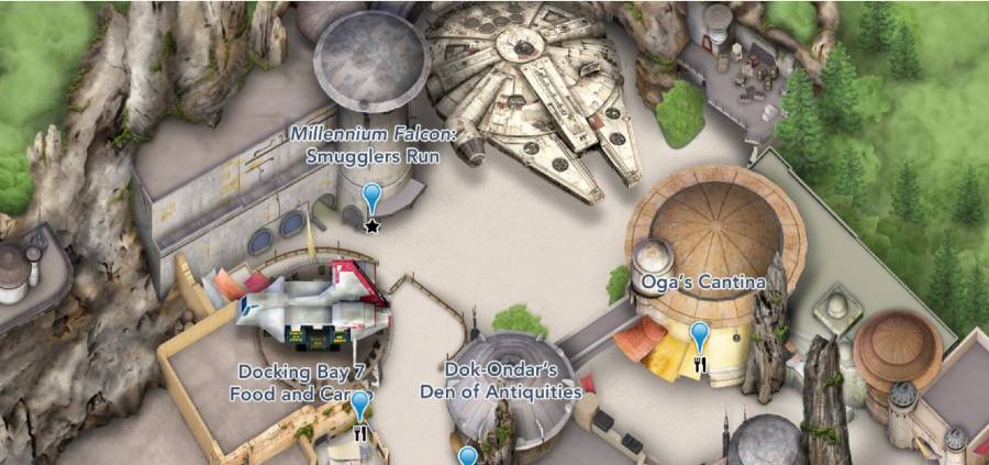 Star Wars: Galaxy's Edge now on the Disneyland Map | The Disney Blog
