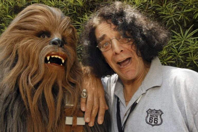 Peter Mayhew at Star Wars Weekends