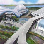 TRON Coaster Concept Art - Tomorrowland