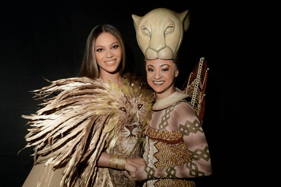 Beyonce meets Broadway's Nala from The Lion King