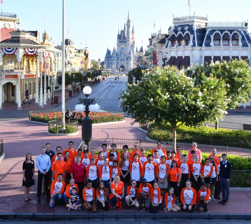 FIRST Robotics Exploding Bacon Magic Kingdom